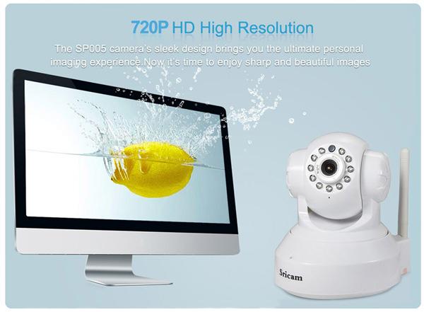 دوربین مدار بسته وای فای گردان با کیفیت HD
