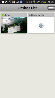 راهنمای اپلیکیشن دوربین wifi سری کم