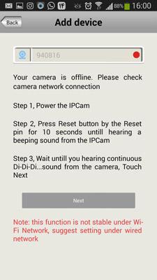 راهنمای نصب دوربین وای فای wifi
