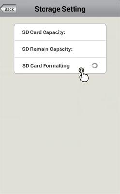 فرمت کارت حافظه دوربین وای فای