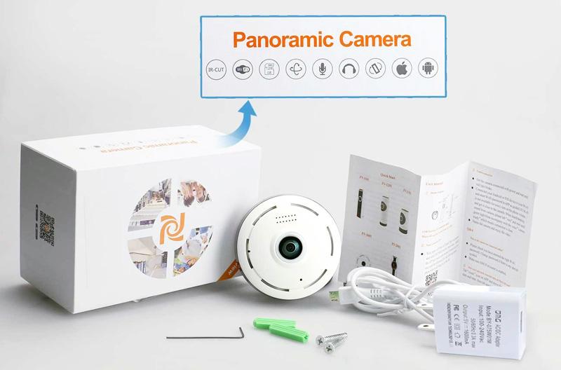 دوربین فیش آی پاناروما