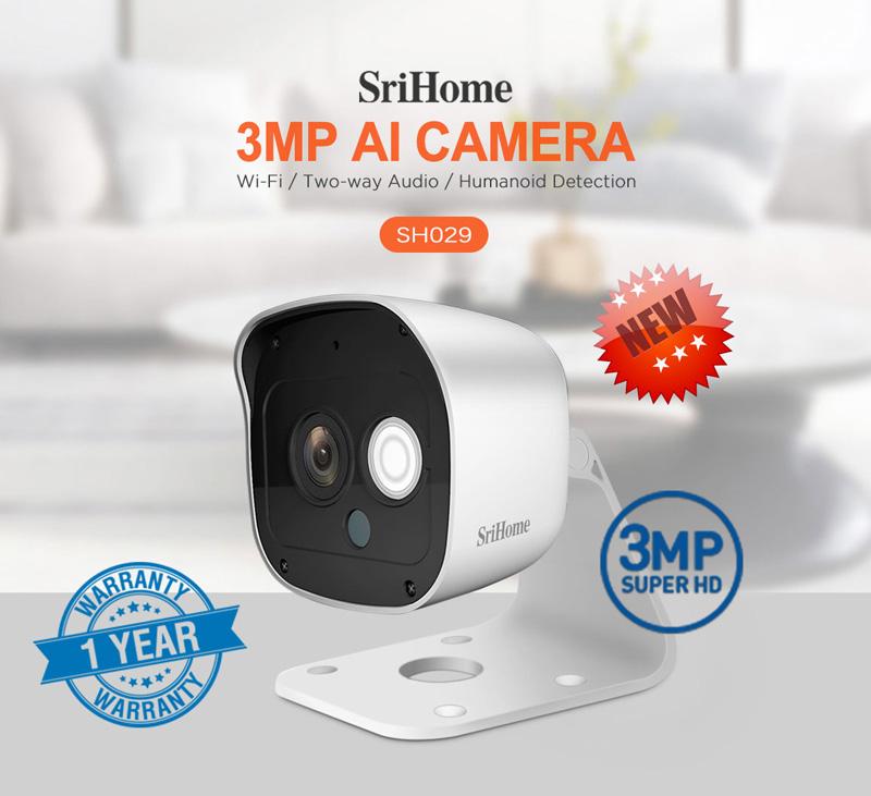 دوربین وایفای srihome sh029
